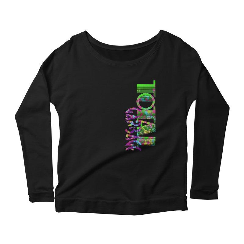 Total Garbage Women's Scoop Neck Longsleeve T-Shirt by Jason Henricks' Artist Shop