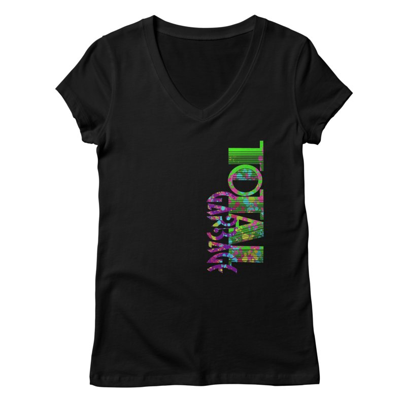 Total Garbage Women's Regular V-Neck by Jason Henricks' Artist Shop