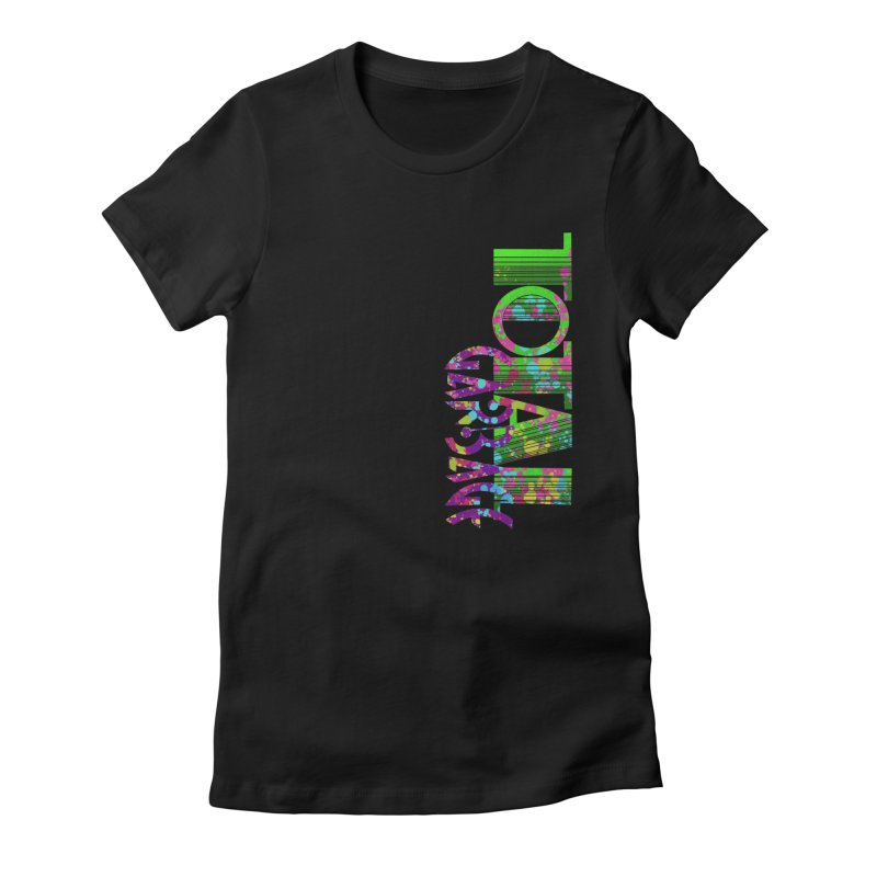 Total Garbage Women's Fitted T-Shirt by Jason Henricks' Artist Shop