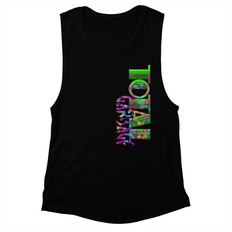 Total Garbage Women's Muscle Tank by Jason Henricks' Artist Shop