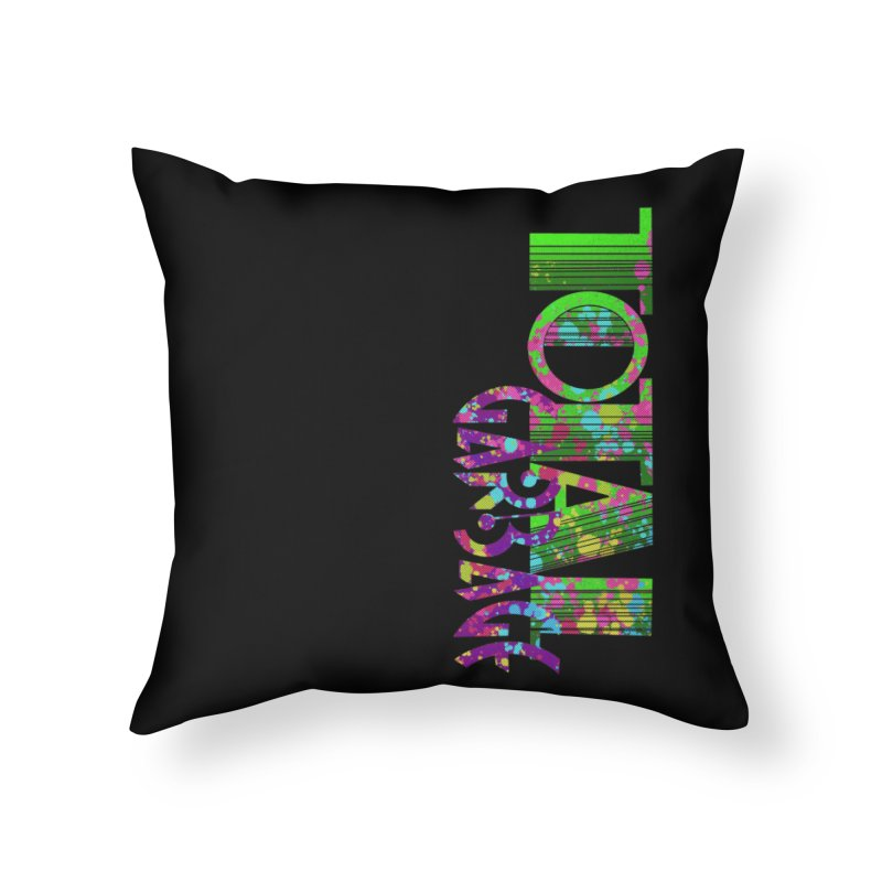 Total Garbage Home Throw Pillow by Jason Henricks' Artist Shop
