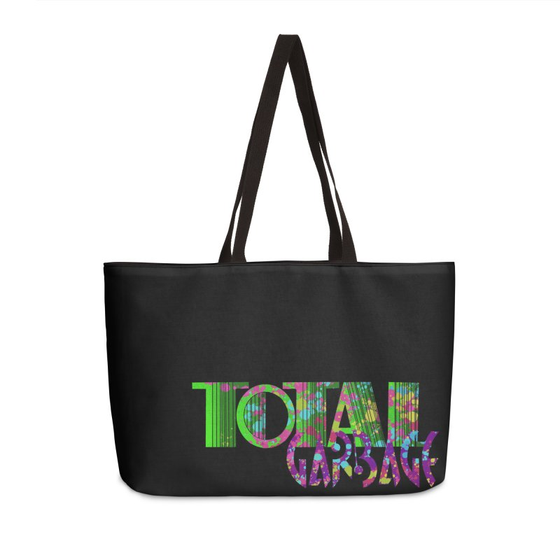 Total Garbage Accessories Weekender Bag Bag by Jason Henricks' Artist Shop