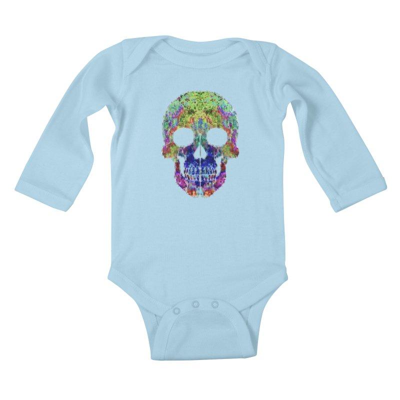 Glitz Kids Baby Longsleeve Bodysuit by Jason Henricks' Artist Shop