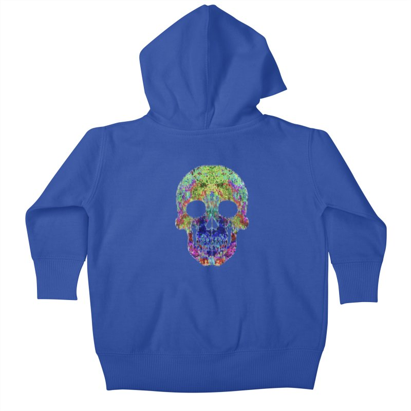 Glitz Kids Baby Zip-Up Hoody by Jason Henricks' Artist Shop