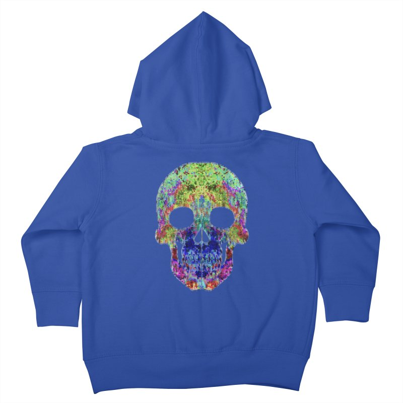 Glitz Kids Toddler Zip-Up Hoody by Jason Henricks' Artist Shop