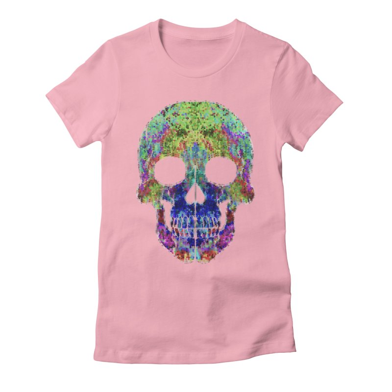 Glitz Women's Fitted T-Shirt by Jason Henricks' Artist Shop