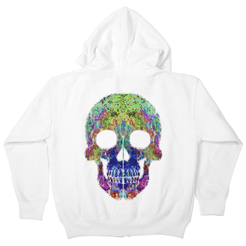 Glitz Kids Zip-Up Hoody by Jason Henricks' Artist Shop