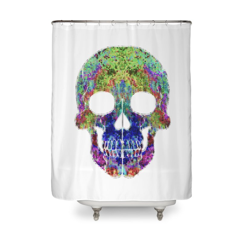 Glitz Home Shower Curtain by Jason Henricks' Artist Shop