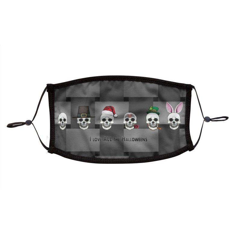 All the Halloweens Accessories Face Mask by Jason Henricks' Artist Shop