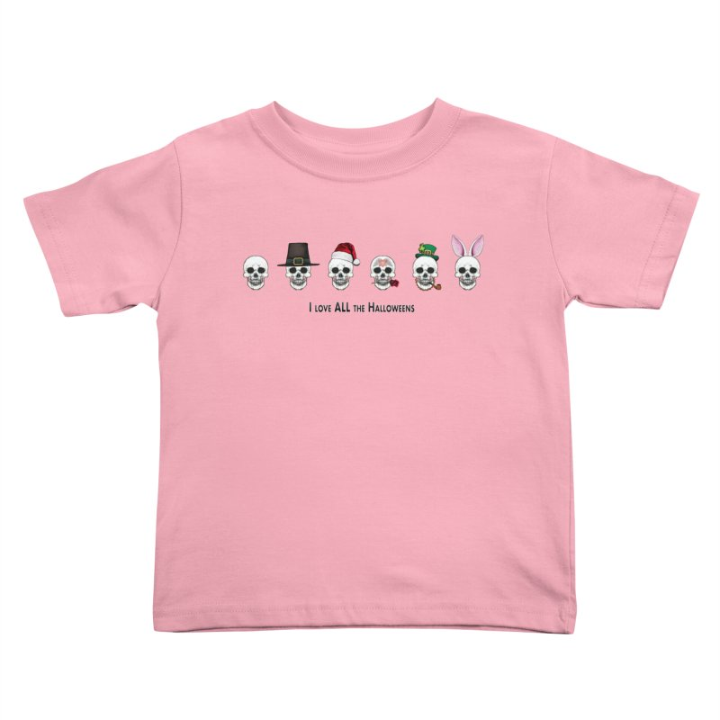 All the Halloweens Kids Toddler T-Shirt by Jason Henricks' Artist Shop