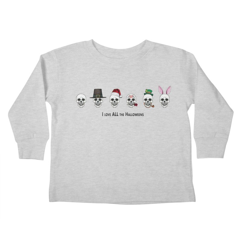 All the Halloweens Kids Toddler Longsleeve T-Shirt by Jason Henricks' Artist Shop