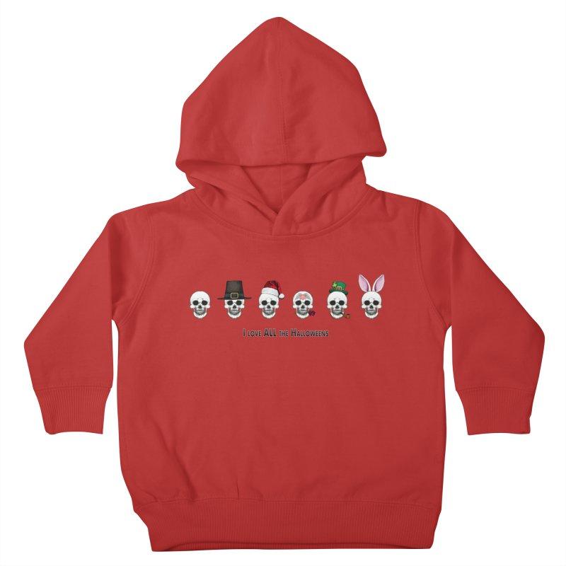 All the Halloweens Kids Toddler Pullover Hoody by Jason Henricks' Artist Shop
