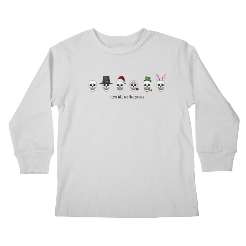 All the Halloweens Kids Longsleeve T-Shirt by Jason Henricks' Artist Shop