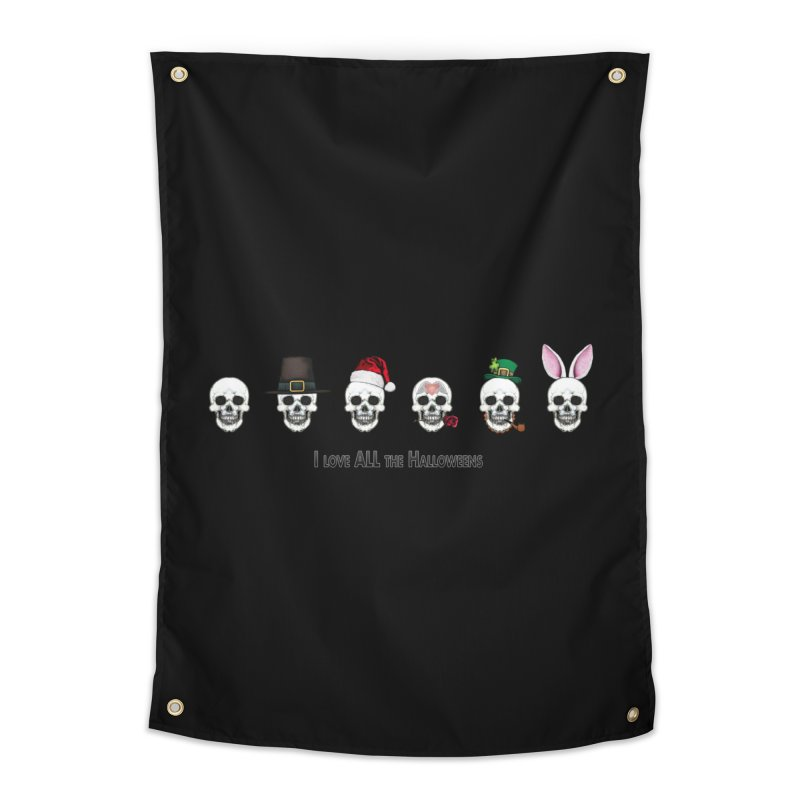 All the Halloweens Home Tapestry by Jason Henricks' Artist Shop