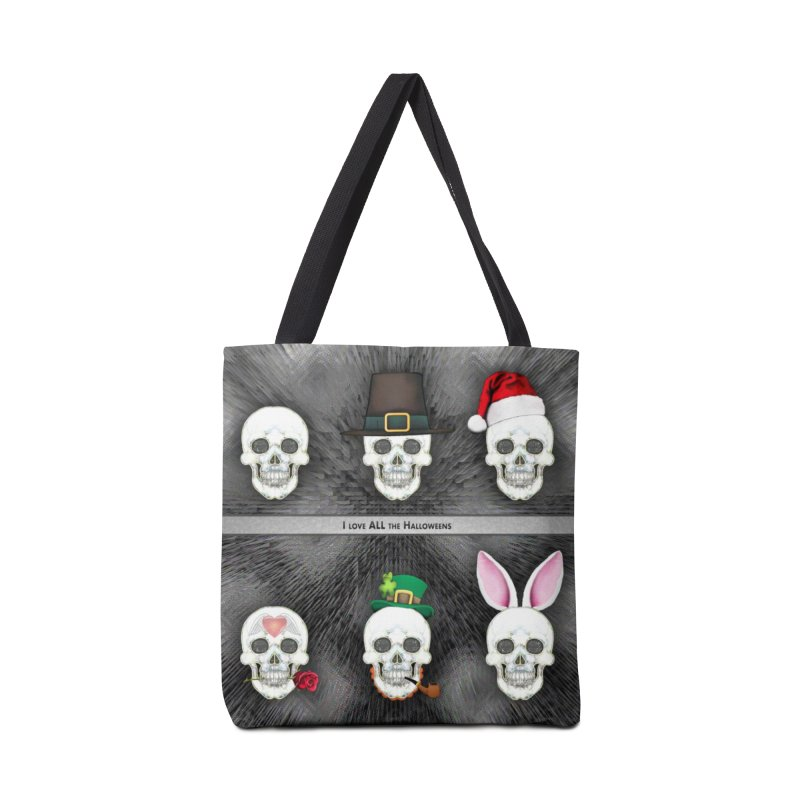 All the Halloweens Accessories Bag by Jason Henricks' Artist Shop