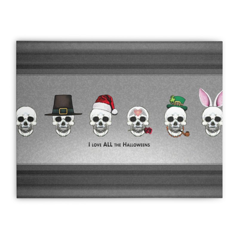 All the Halloweens Home Stretched Canvas by Jason Henricks' Artist Shop