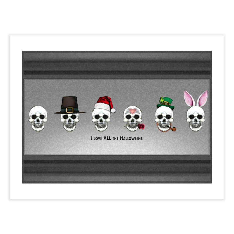All the Halloweens Home Fine Art Print by Jason Henricks' Artist Shop