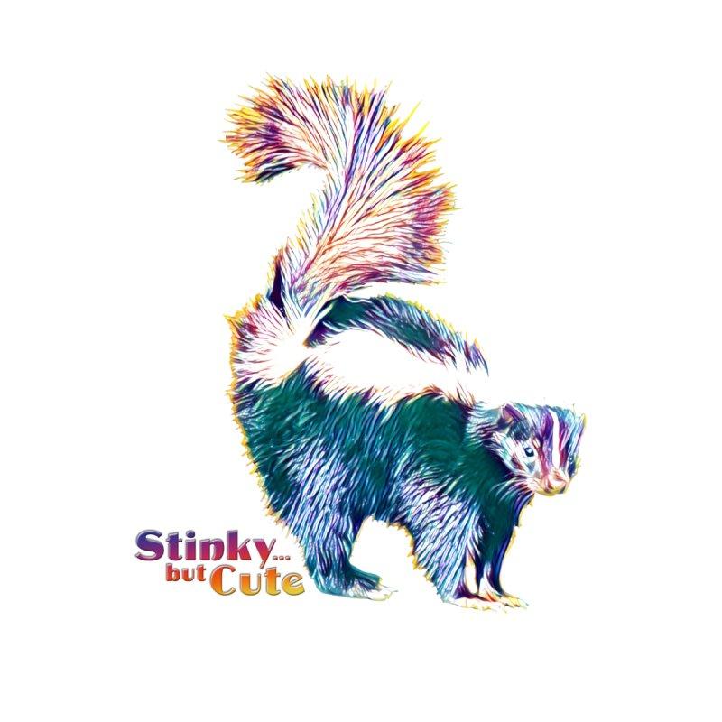 She Stinky, but She Cute Home Stretched Canvas by Jason Henricks' Artist Shop
