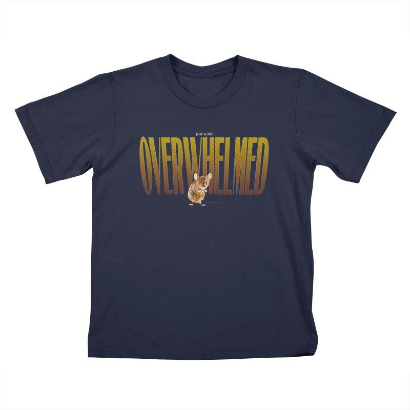 Just a bit Overwhelmed Kids T-Shirt by Jason Henricks' Artist Shop