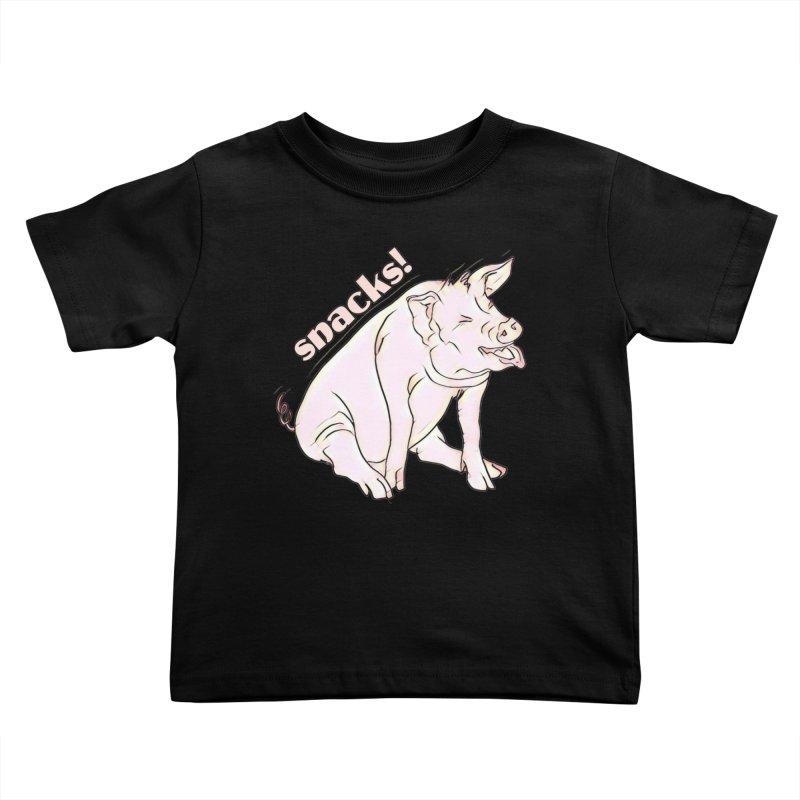 but first snacks! Kids Toddler T-Shirt by Jason Henricks' Artist Shop