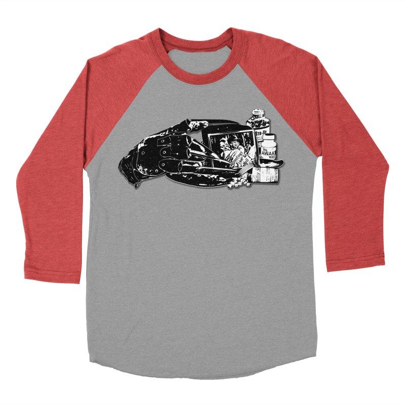 Never sleep again... Women's Baseball Triblend Longsleeve T-Shirt by Jason Henricks' Artist Shop