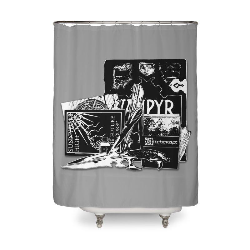 Slay. Home Shower Curtain by Jason Henricks' Artist Shop