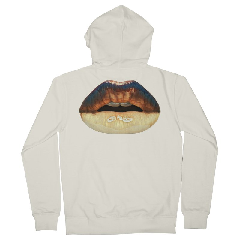 Indeed. Women's French Terry Zip-Up Hoody by Jason Henricks' Artist Shop