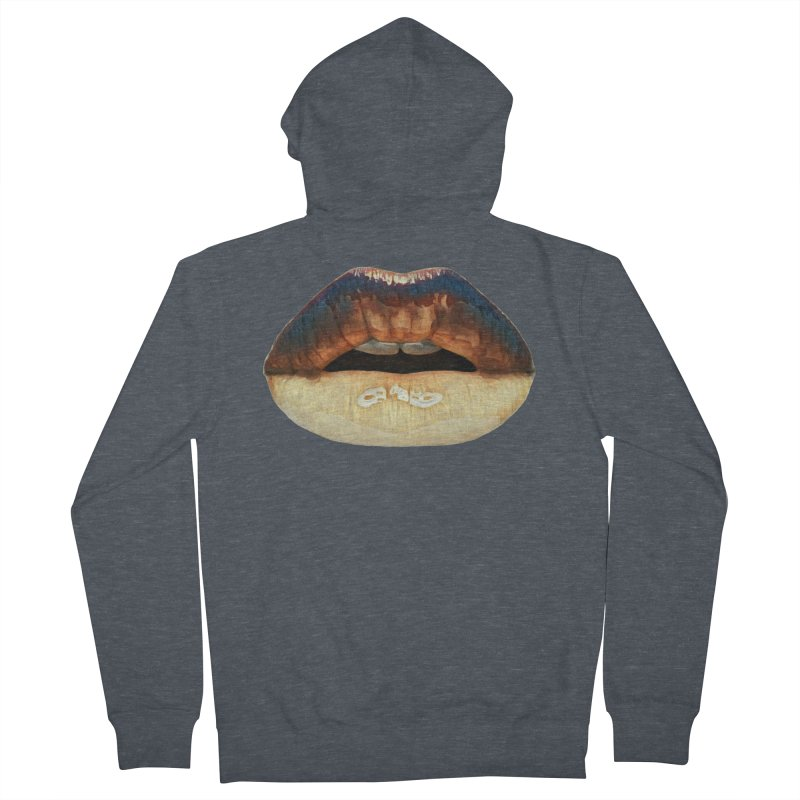 Indeed. Men's French Terry Zip-Up Hoody by Jason Henricks' Artist Shop