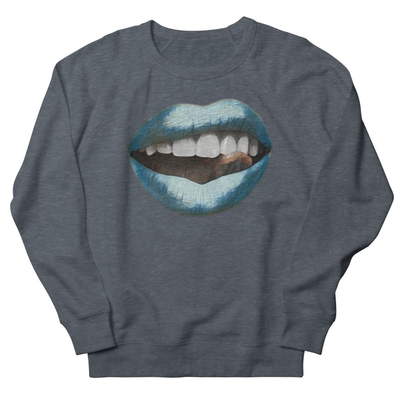Tasty Freeze Women's French Terry Sweatshirt by Jason Henricks' Artist Shop