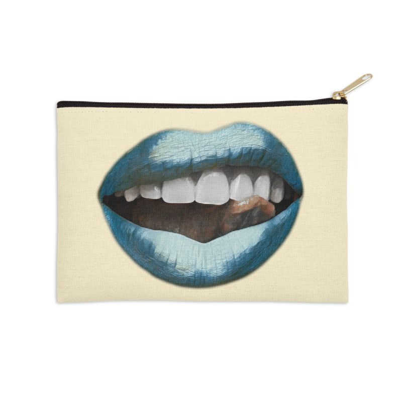 Tasty Freeze Accessories Zip Pouch by Jason Henricks' Artist Shop