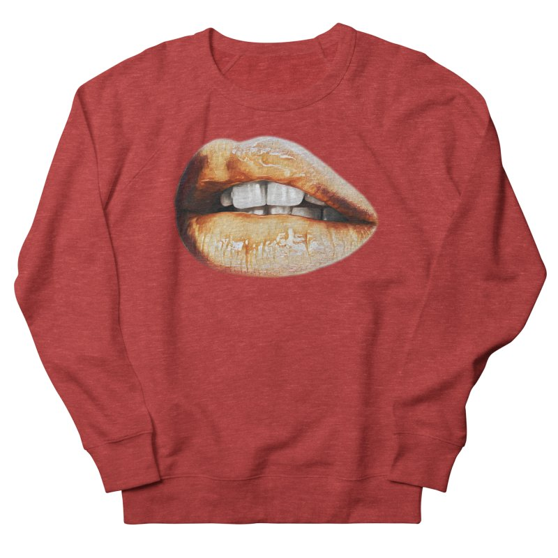 Torn Men's French Terry Sweatshirt by Jason Henricks' Artist Shop