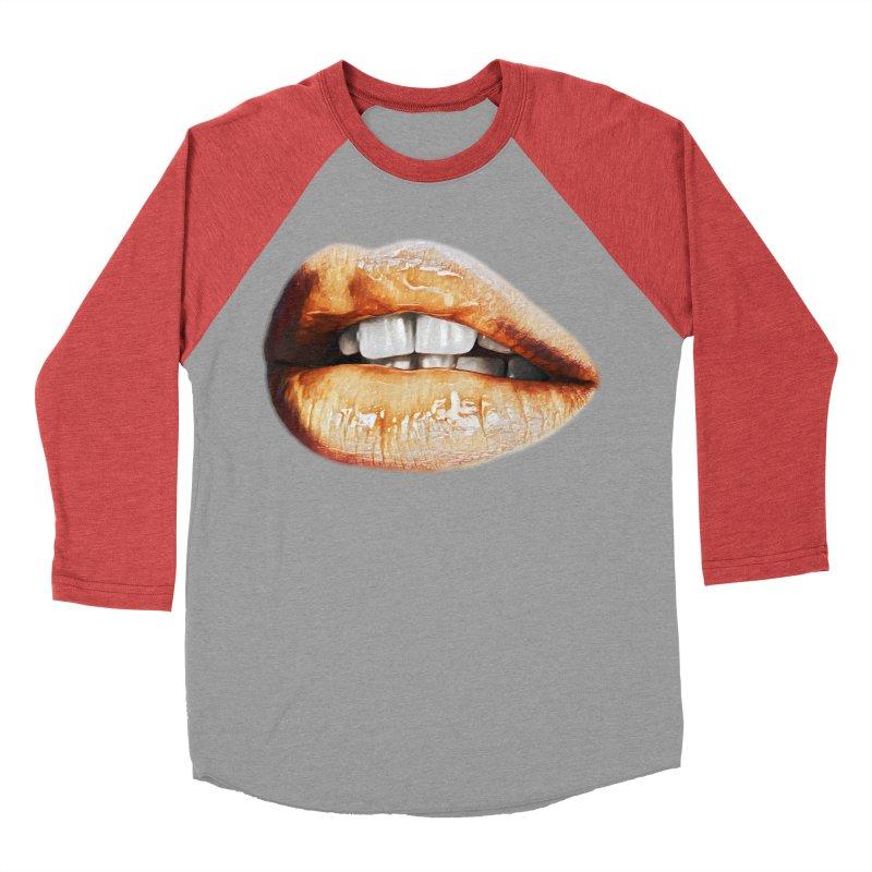 Torn Men's Baseball Triblend T-Shirt by Jason Henricks' Artist Shop