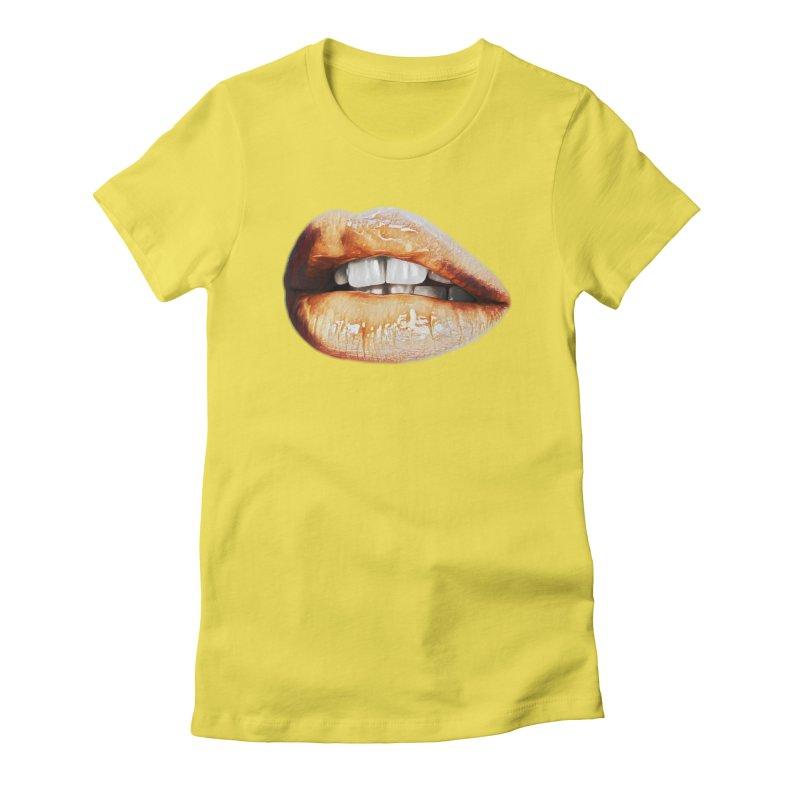 Torn Women's Fitted T-Shirt by Jason Henricks' Artist Shop
