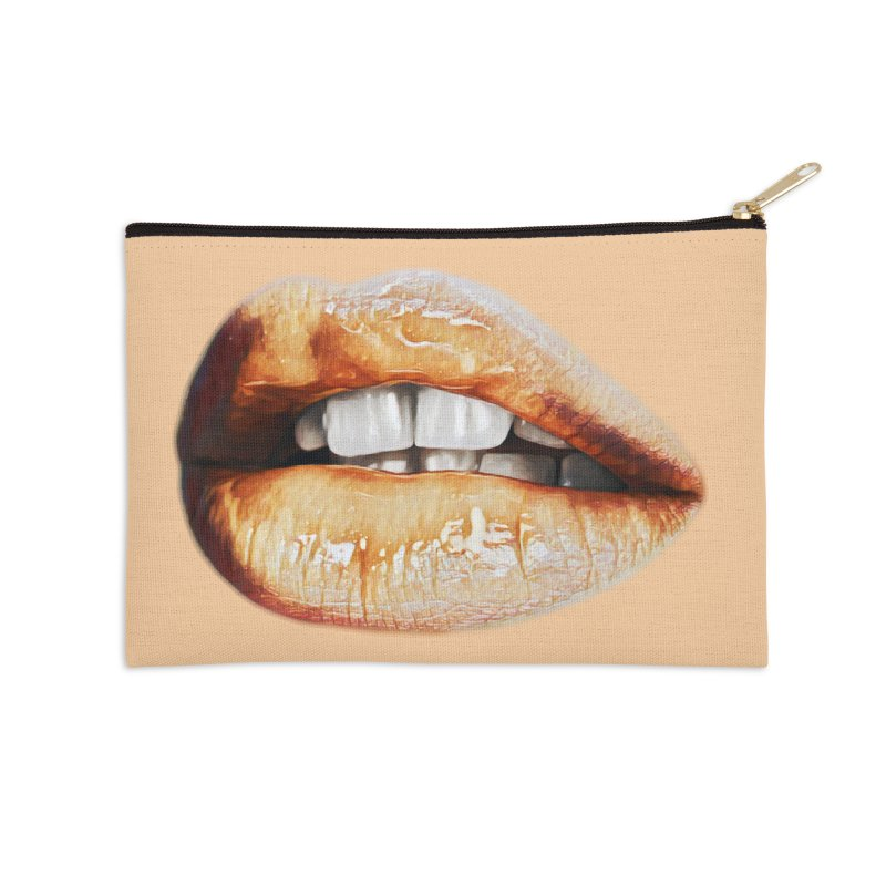 Torn Accessories Zip Pouch by Jason Henricks' Artist Shop