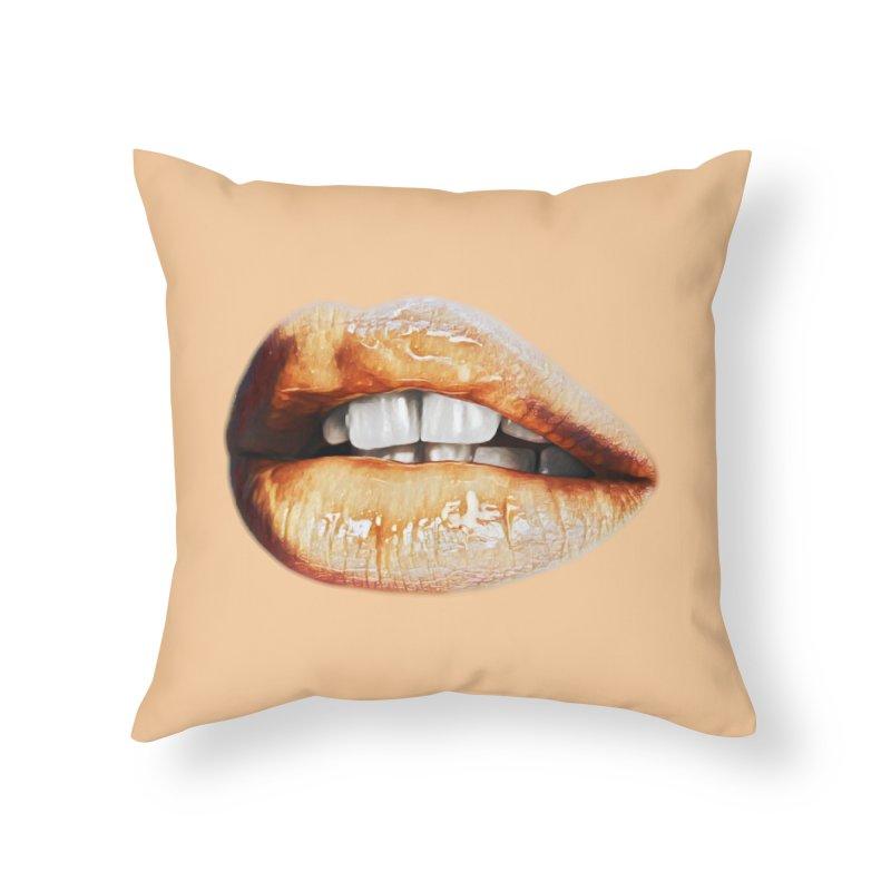 Torn Home Throw Pillow by Jason Henricks' Artist Shop
