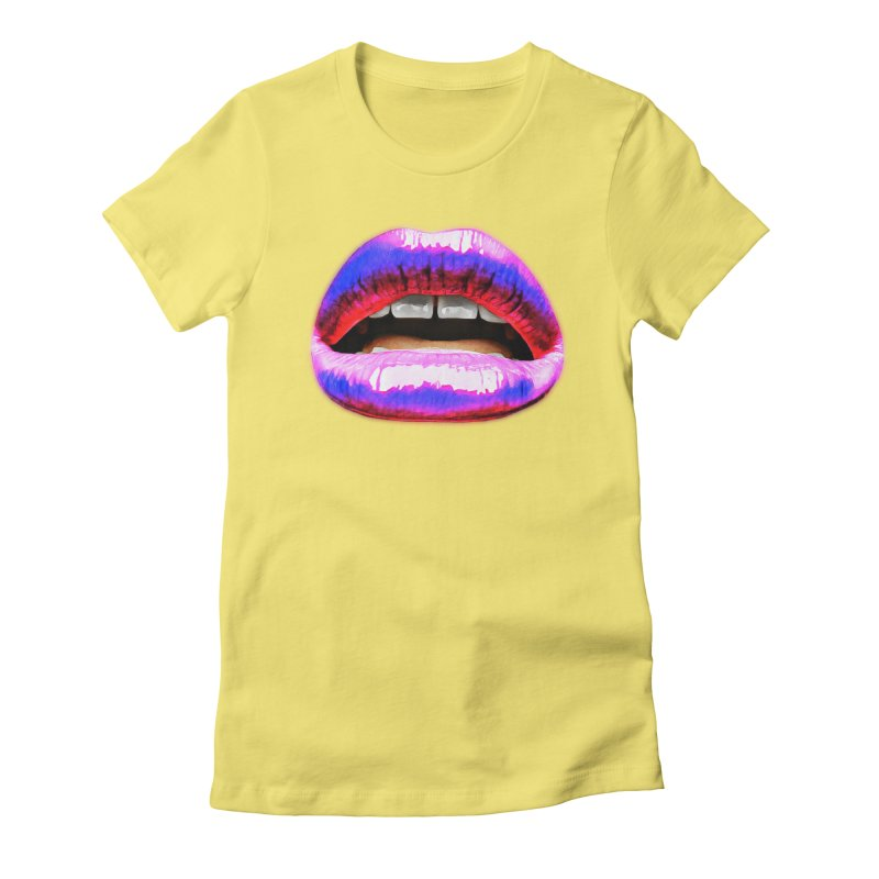 Up late. Women's Fitted T-Shirt by Jason Henricks' Artist Shop