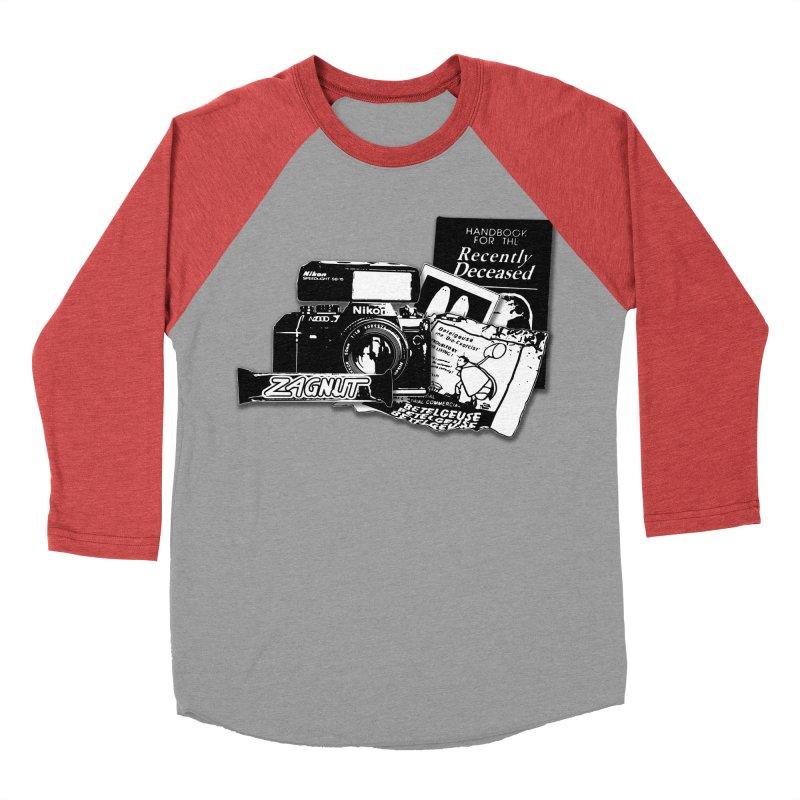Watch out for Sandworms. Men's Baseball Triblend T-Shirt by Jason Henricks' Artist Shop
