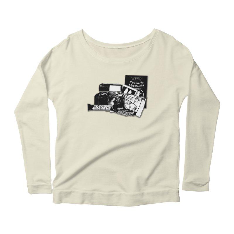 Watch out for Sandworms. Women's Scoop Neck Longsleeve T-Shirt by Jason Henricks' Artist Shop