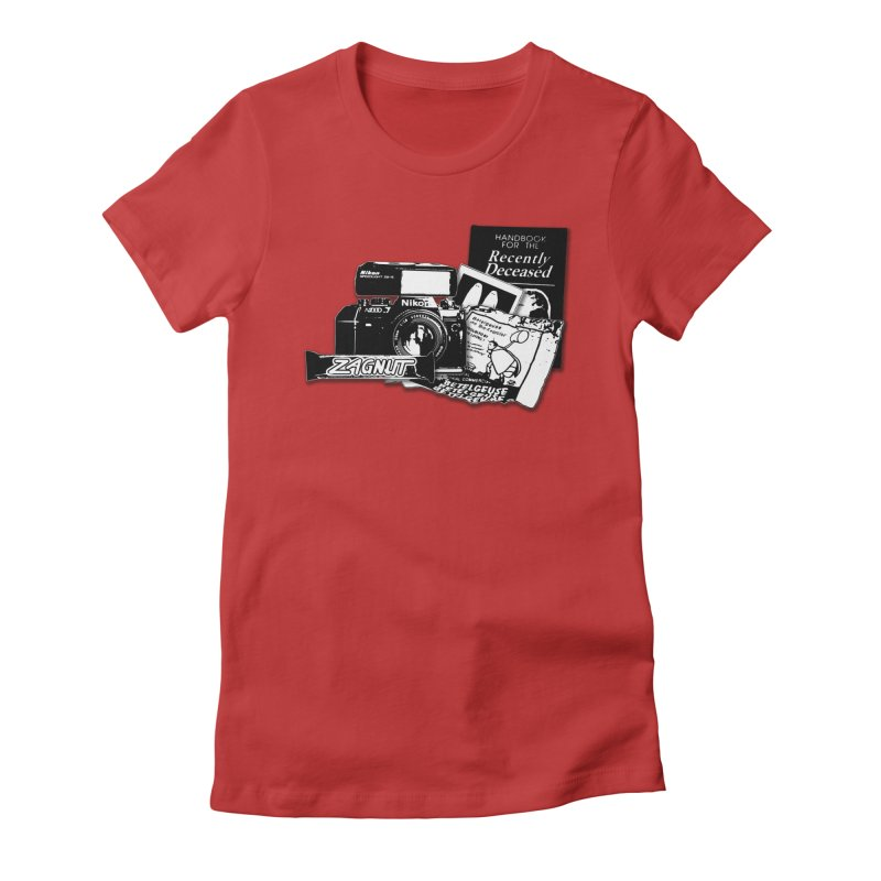 Watch out for Sandworms. Women's Fitted T-Shirt by Jason Henricks' Artist Shop