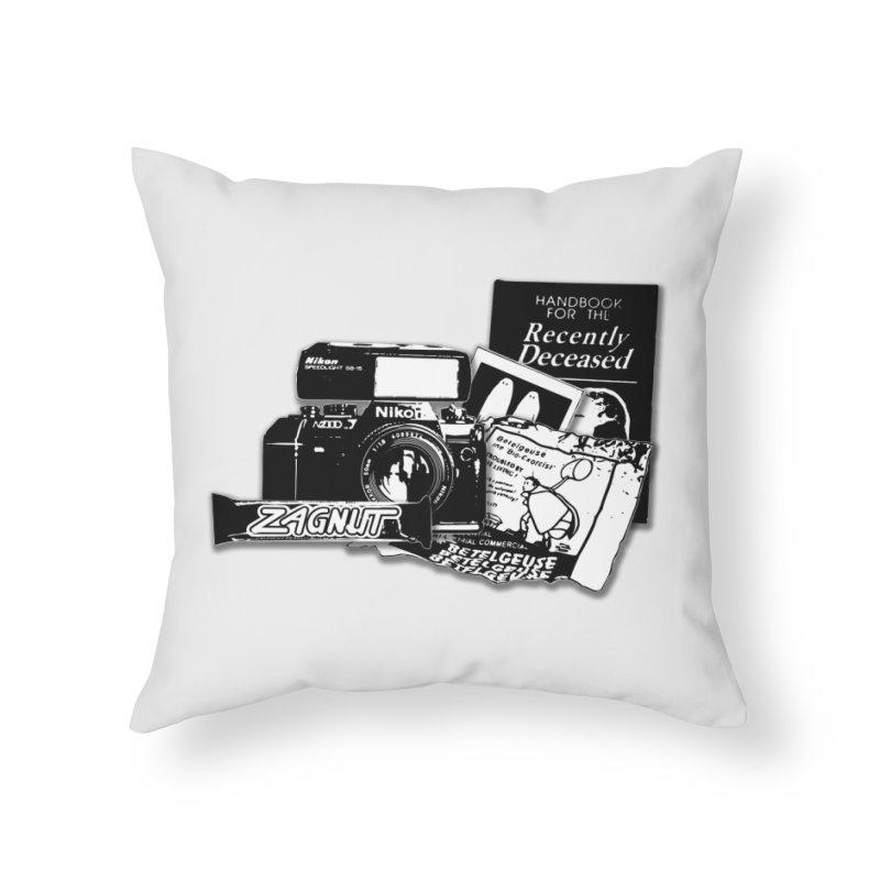 Watch out for Sandworms. Home Throw Pillow by Jason Henricks' Artist Shop