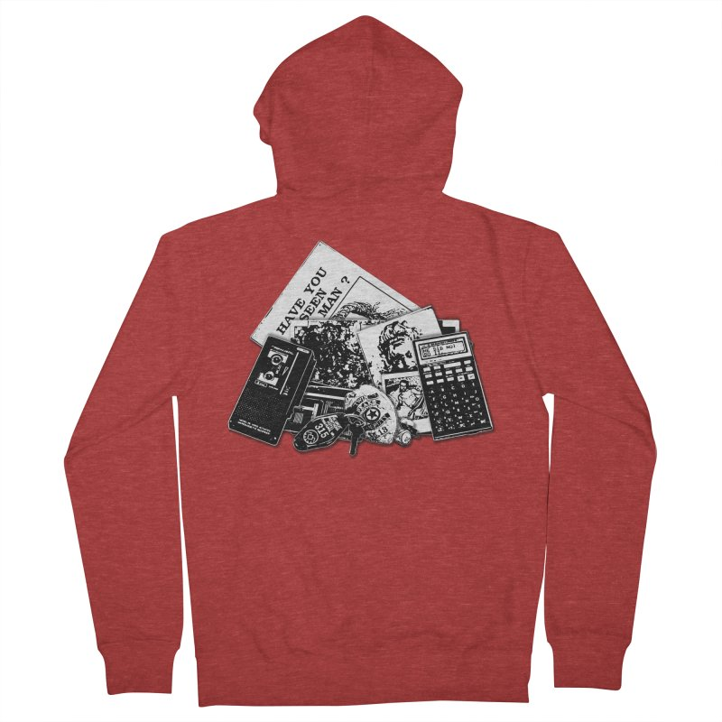 We're going to need some more coffee. Men's French Terry Zip-Up Hoody by Jason Henricks' Artist Shop