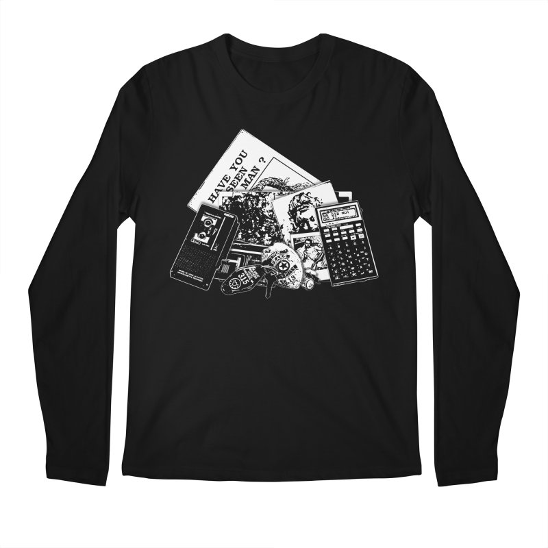 We're going to need some more coffee. Men's Regular Longsleeve T-Shirt by Jason Henricks' Artist Shop