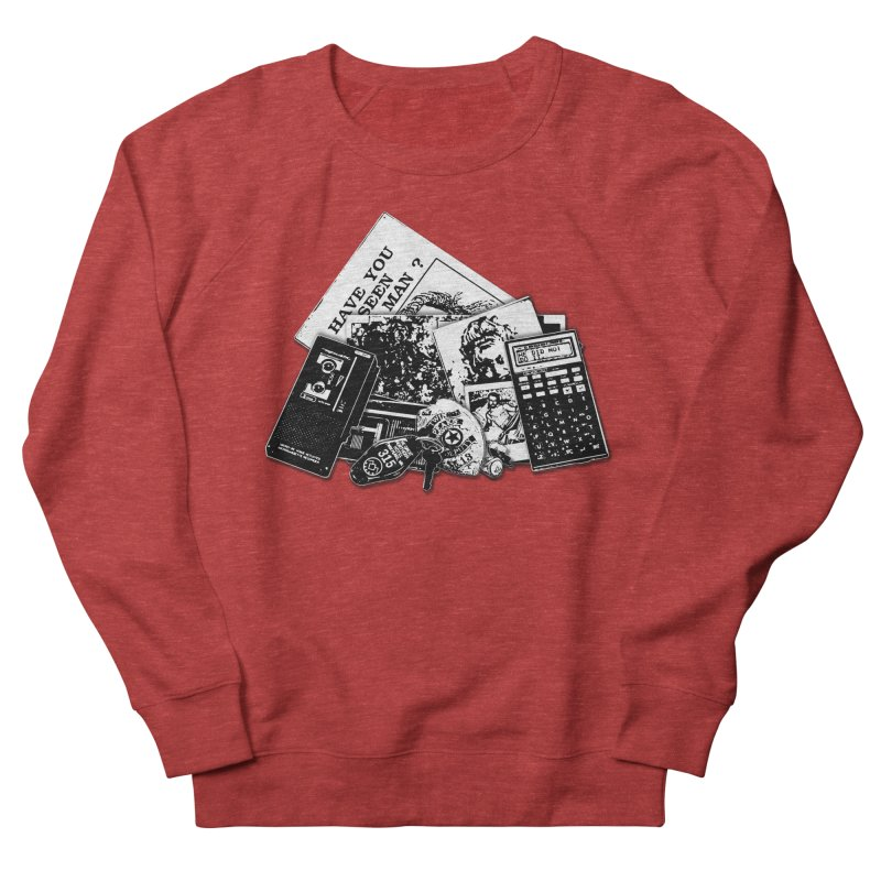 We're going to need some more coffee. Men's French Terry Sweatshirt by Jason Henricks' Artist Shop