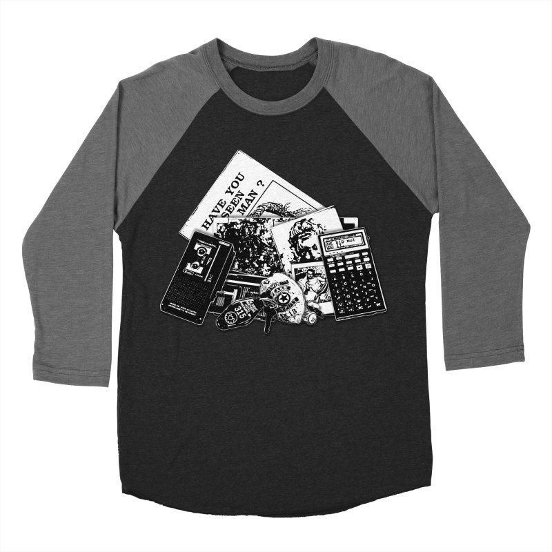 We're going to need some more coffee. Women's Baseball Triblend Longsleeve T-Shirt by Jason Henricks' Artist Shop