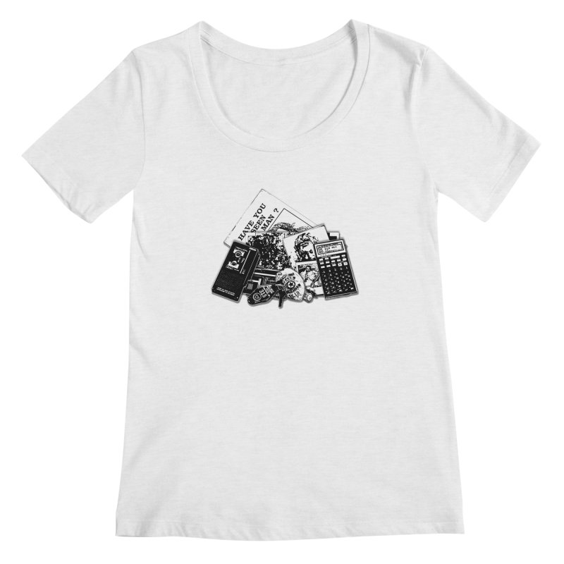 We're going to need some more coffee. Women's Regular Scoop Neck by Jason Henricks' Artist Shop