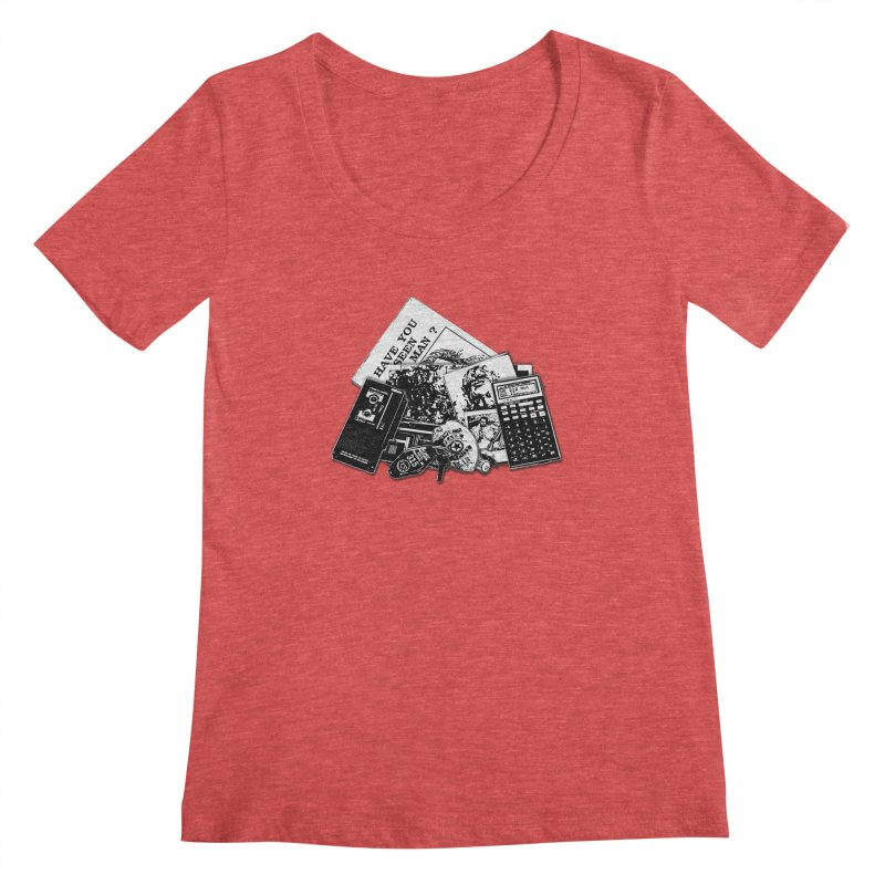 We're going to need some more coffee. Women's Scoopneck by Jason Henricks' Artist Shop