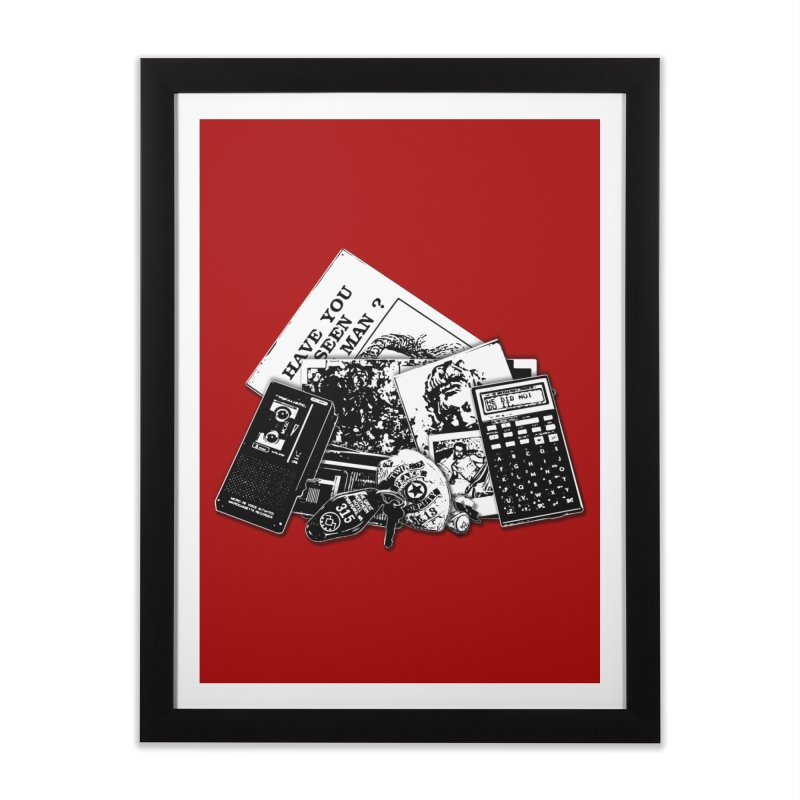 We're going to need some more coffee. Home Framed Fine Art Print by Jason Henricks' Artist Shop