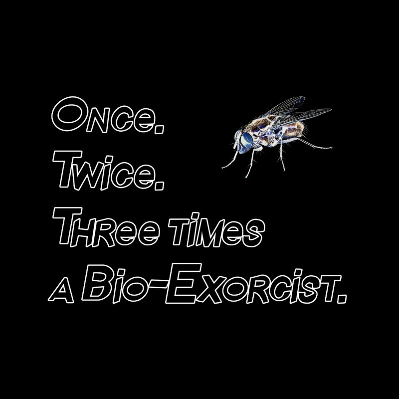 Once. Twice. Three times a Bio-Exorcist. Home Tapestry by Jason Henricks' Artist Shop