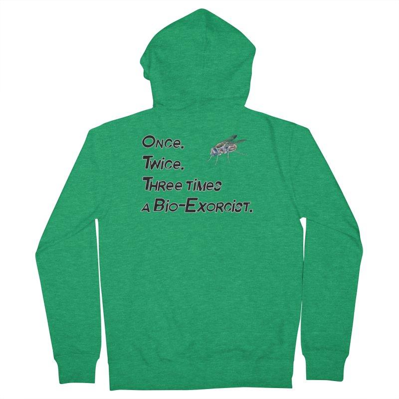Once. Twice. Three times a Bio-Exorcist. Men's Zip-Up Hoody by Jason Henricks' Artist Shop