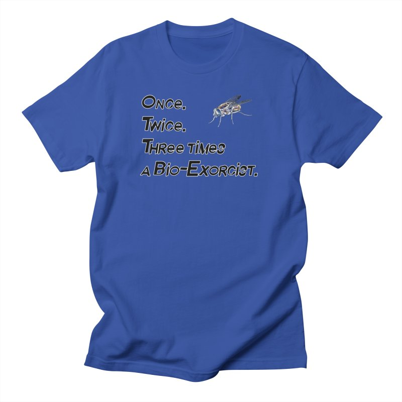 Once. Twice. Three times a Bio-Exorcist. Men's T-Shirt by Jason Henricks' Artist Shop